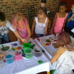kids playin
