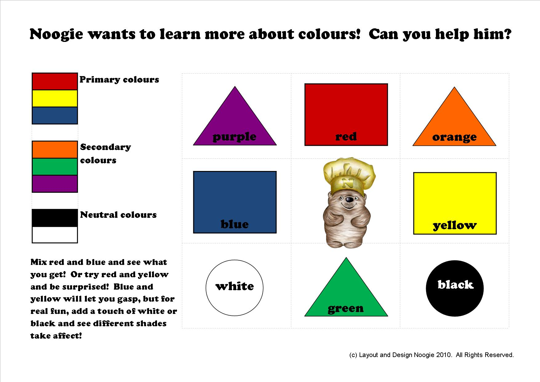 Learning-colours